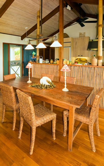 tropical dining room hawaiian cottage style tropical dining room hawaii Tropical Dining Room