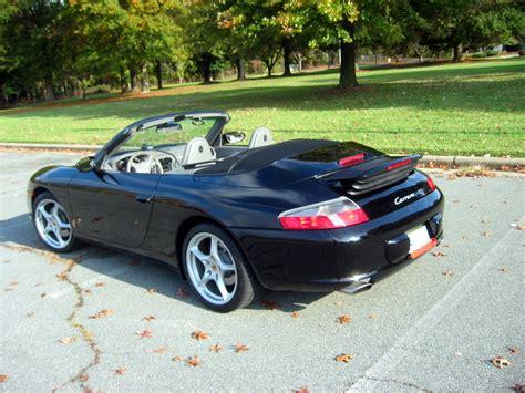 porsche 911 convertible black 2002 porsche 911 carrera cabriolet black gray rennlist