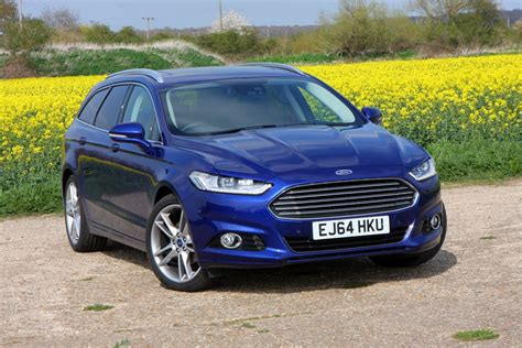 Ford Mondeo Estate 2018 Photos Parkers