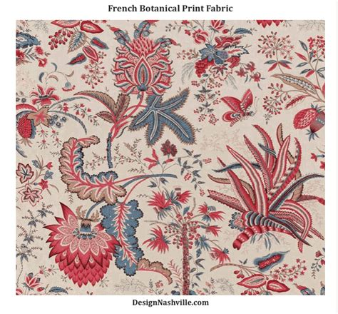 botanical print fabric french botanical print fabric