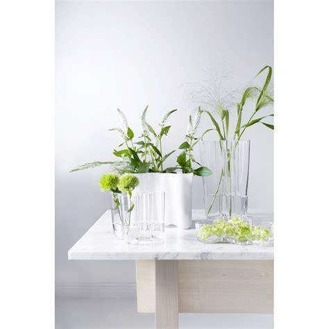 vasi alvar aalto iittala vaso aalto 160 mm bianco design shop