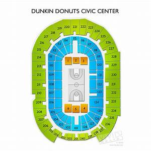 Dunkin Center Seating Chart Dunkin Donuts Center Tickets Dunkin Donuts Civic Center