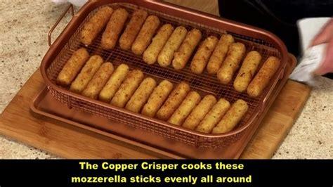 piece copper crisper oven air fryer pan set bed bath  video
