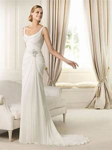 bride in dream gorgeous sheath wedding dress adds a touch With wedding dresses for tall skinny brides