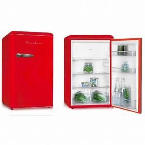 Frigo Rouge Pas Cher : petit frigo vintage pas cher ~ Dailycaller-alerts.com Idées de Décoration