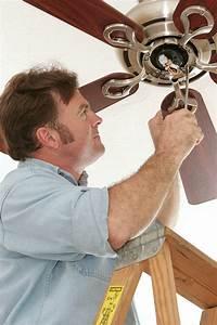 Simple diy steps to repair a ceiling fan