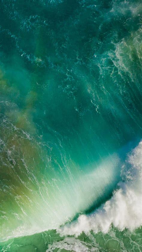 ios  splashing wave default iphone  hd wallpaper hd
