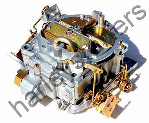 Rebuilt Marine Carburetor Quadrajet For 350 Engine