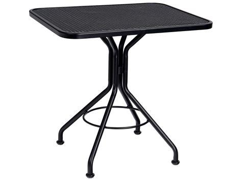 woodard wrought iron iron 30 x 24 rectangular bistro table