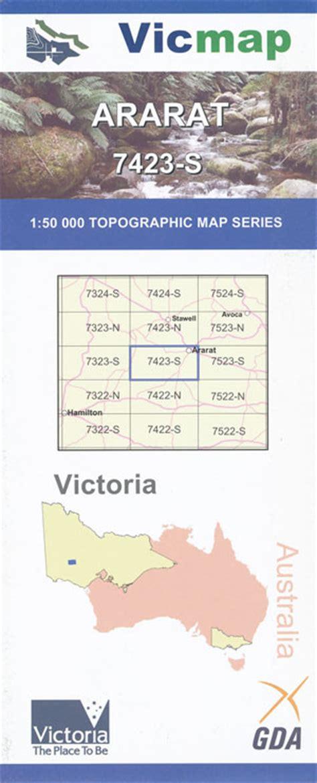 online offender maps mt ararat ararat 1 50 000 vicmap maps books travel guides