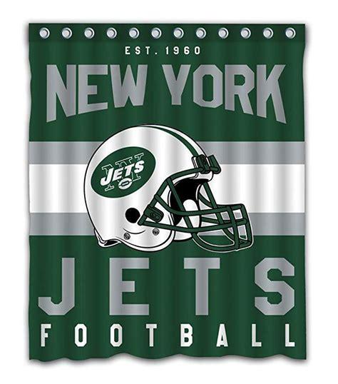 NEW YORK JETS Football Helmet Shower Curtain   GoJeek
