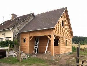 Extension Ossature Bois : maisons extensions avec ossature bois soci t trefibois ~ Melissatoandfro.com Idées de Décoration
