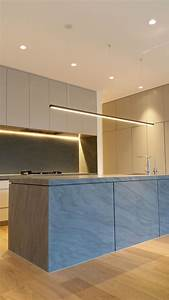 Modern Suspended Profile Kitchen Led Downlights