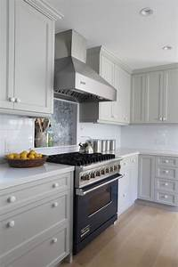 Gray cabinets contemporary kitchen benjamin moore for Kitchen colors with white cabinets with brushed aluminum wall art