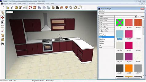 program for kitchen design corpus assembling a kitchen hd 4429