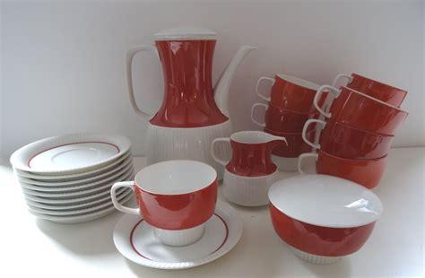 50er Jahre Geschirr by Vintage 60s Rosenthal Studio Line Kaffeeservice Service