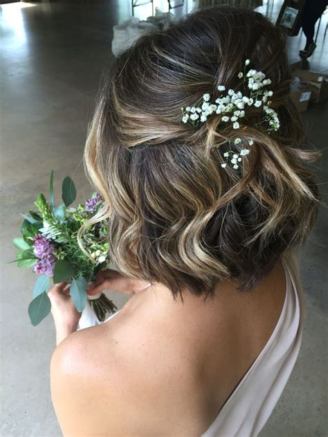 23 most glamorous wedding hairstyle for short hair haircuts hairstyles 2019