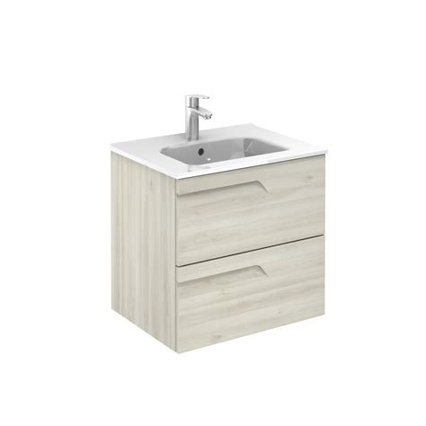 600mm wall hung vanity unit vitale 600mm slimline 2 drawer wall hung vanity unit