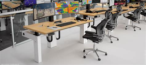 multi bureau poste de travail multi écrans mobilier professionnel i