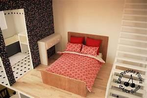 Les Meubles De Maison : maison de barbie 6 les meubles chambres et salle de bain les petites folies d 39 alice balice ~ Teatrodelosmanantiales.com Idées de Décoration