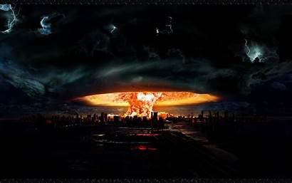 Cityscapes Apocalypto Explosions Cataclysm Clouds Wide