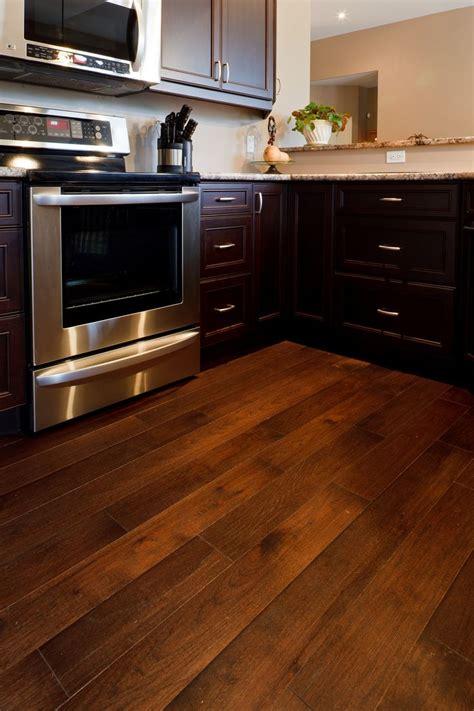 hickory espresso distressed espresso kitchen cabinets