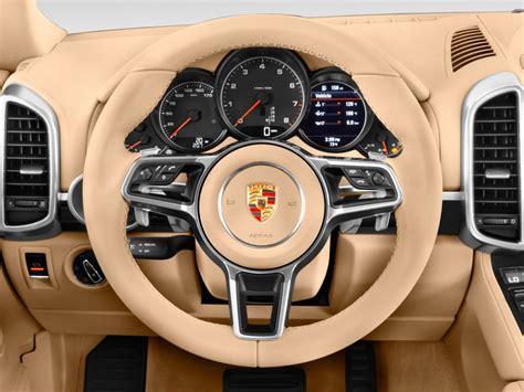 image  porsche cayenne awd steering wheel size