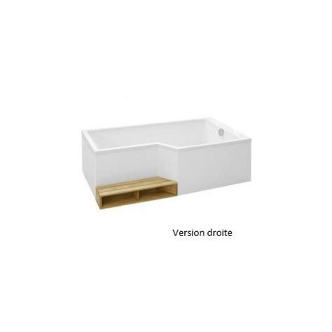 jacob delafon baignoire bain douche acrylique neo