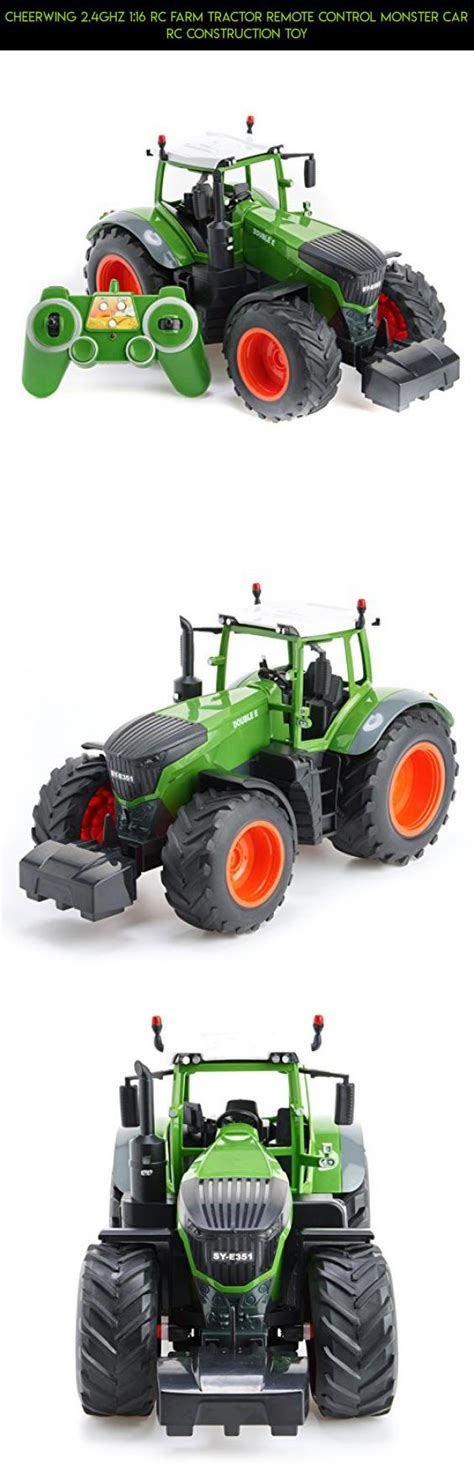 cheerwing ghz  rc farm tractor remote control monster car rc construction toy plans rc
