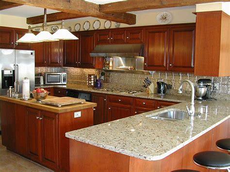 Photos Of Kitchens With Metal Backsplashes