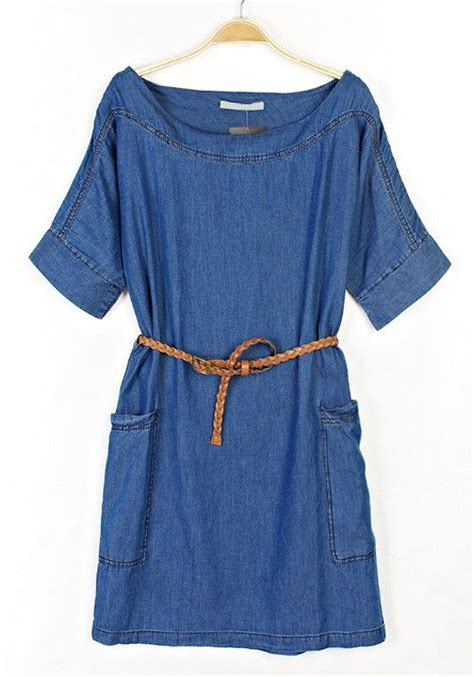 Boat Neck Denim Dress by 22 Best Images About Denim Dress Mystyle On