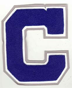 Custom embroidered patches chenille letters and emblems for Custom embroidered letter patches
