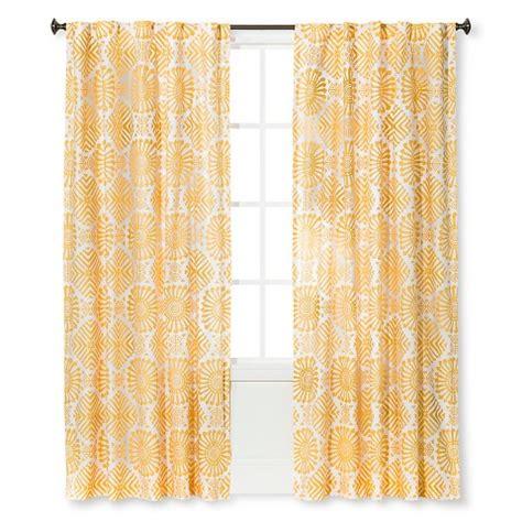 sabrina soto kuna curtain panel yellow target