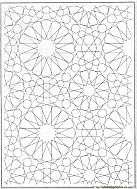 connecting lines coloring page  pattern coloring pages coloringpagescom