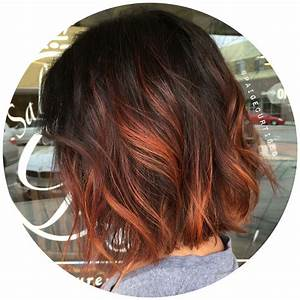 Ombré Hair Cuivré : short copper ombre personal work hair hair color ~ Melissatoandfro.com Idées de Décoration
