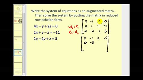 find jordan form representation of the following matrices augmented matrices reduced row echelon form youtube