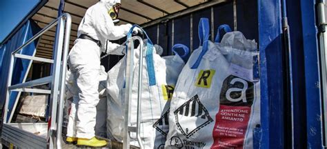 construction company fined unlicensed asbestos removal