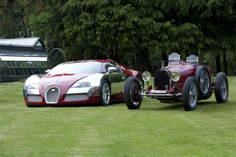 Bugatti New Look Vs Old-look-hd Wallpaper For Desktop