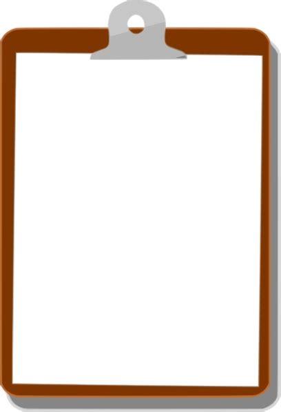 clipboard vector image   vector
