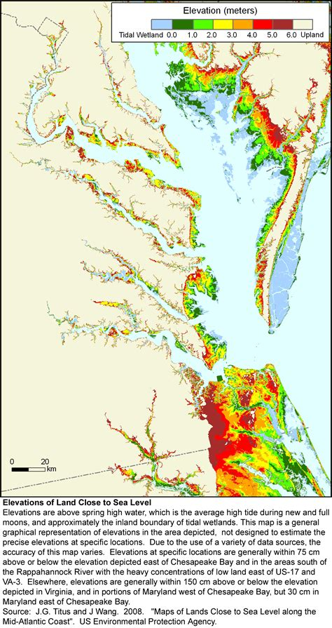 sea level rise planning maps likelihood  shore