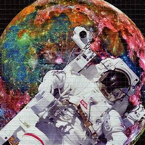 ASTRONAUT - perforated sheet BLOTTER ART psychedelic acid ...
