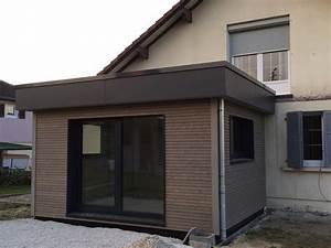 prix m2 extension maison best maison ossature bois prix With prix m2 extension maison