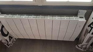Chauffage Electrique A Inertie : radiateur electrique a chaleur douce et inertie ~ Edinachiropracticcenter.com Idées de Décoration