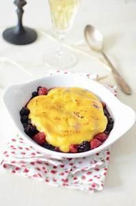 Gratin Fruits Rouges : recette gratin fruits rouges sabayon au champagne 750g ~ Melissatoandfro.com Idées de Décoration