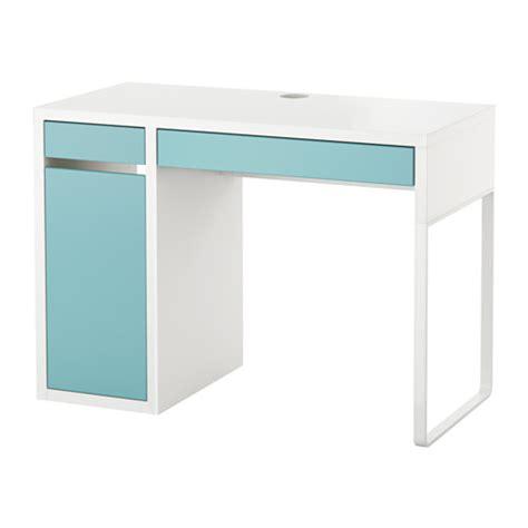 Les De Bureau Ikea by Micke Bureau Blanc Turquoise Clair Ikea