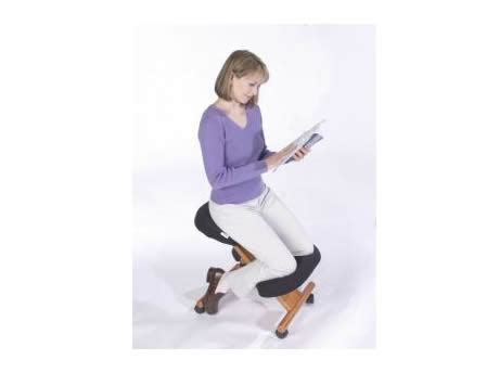 wooden ergonomic kneeling posture office chair backs2beds