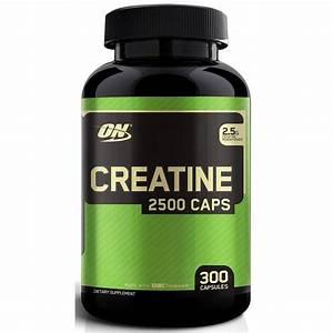 Optimum Nutrition Creatine 2500 Capsules  300 Ct