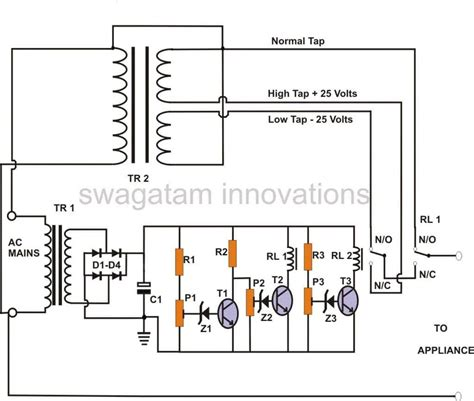 How Build Stage Mains Power Stabilizer Circuit