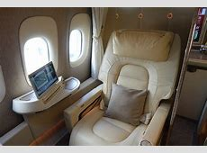 Review Emirates New First Class 777 Dubai To Brussels