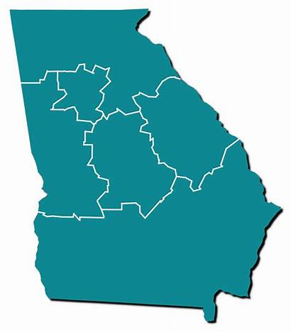 Georgia Map State Newspapers Historic Titles Recently